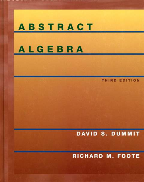 Abstract Algebra 3/e (H)