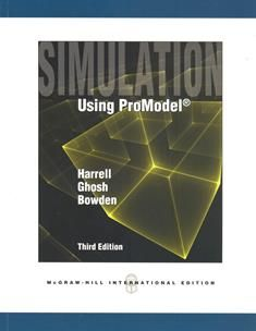Simulation Using ProModel 3/e