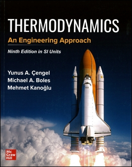 Thermodynamics: An Engineering Approach 9/e (SI Units)