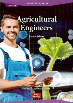 Future Jobs Readers 4-4: Agricultural Emgineers with Audio CD