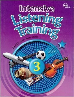 Intensive Listening Training (3) with MP3 CD/片 and Answer Key