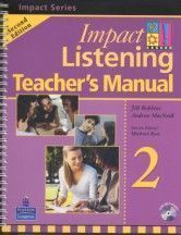 Impact Listening 2/e (2) Teacher's Manual with Test CD/1片 and Master CD/1片