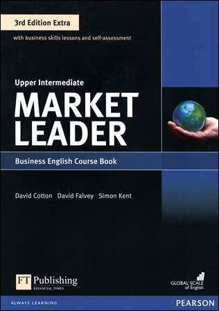 Market Leader 3/e Extra (Upper-Intermediate) Course Book with DVD-ROM/1片