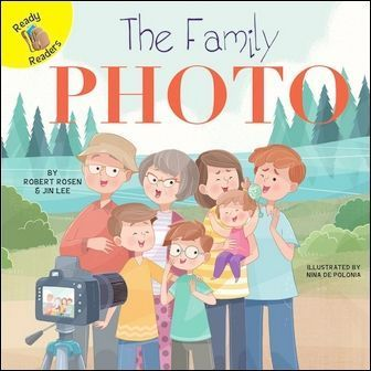 Ready Readers: The Family Photo (Family Time)