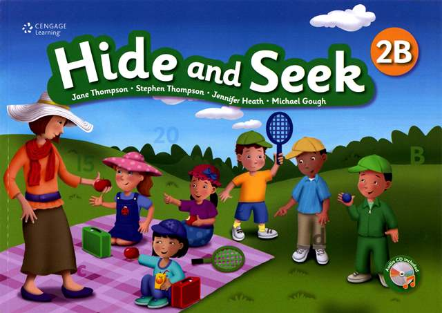 Hide and Seek (2B) with Activity Book and Audio CDs/2片