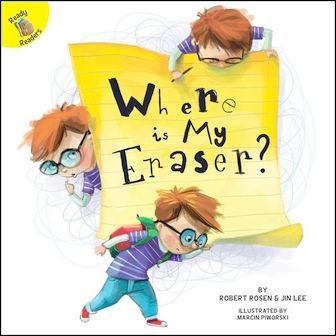Ready Readers: Where Is My Eraser? (School Days)