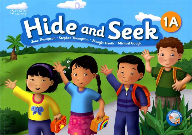 Hide and Seek (1A) with Activity Book and Audio CDs/2片