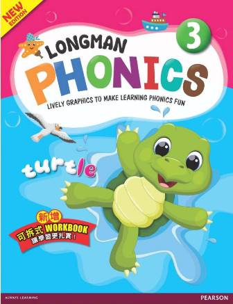 Longman Phonics 3 4/e with Workbook and CDs/2片