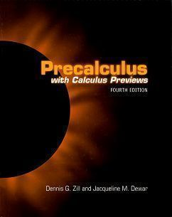 Precalculus with Calculus Previews 4/e