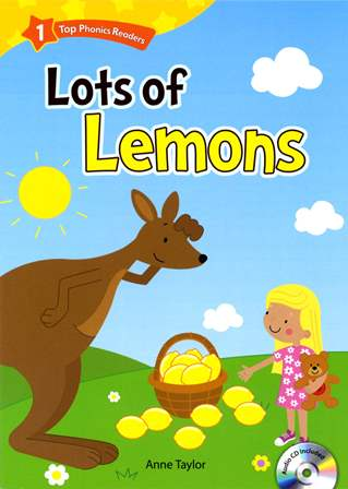 Top Phonics Readers (1) Lots of Lemons with Audio CD/1片