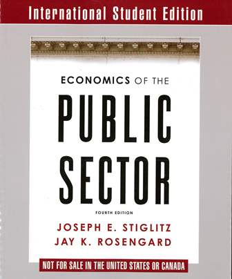 Economics of the Public Sector 4/e