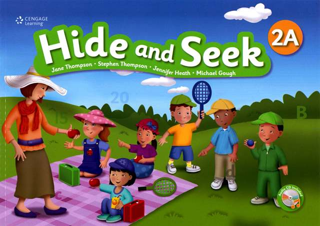 Hide and Seek (2A) with Activity Book and Audio CDs/2片