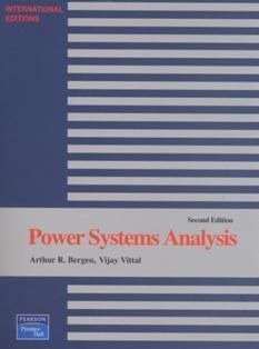 Power Systems Analysis 2/e