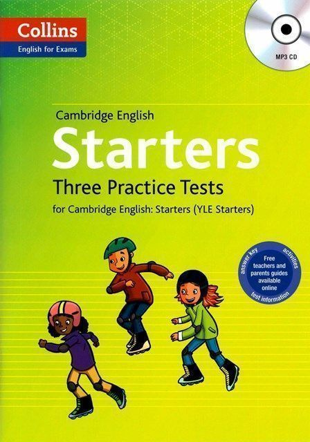 Cambridge English Starters with MP3 CD/1片 (YLE Starters)