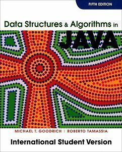 Data Structures and Algorithms in Java 5/e
