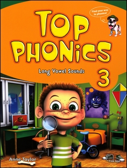 Top Phonics (3) Student Book with APP and Hybrid CD/1片