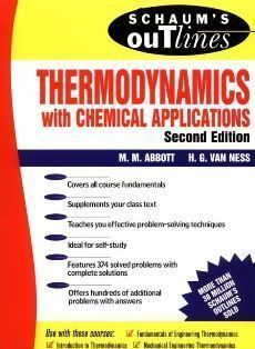Schaum's Outline of Thermodynamics With Chemical Applications 2/e