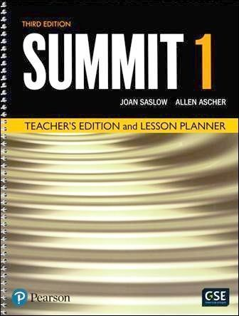 Summit 3/e (1) Teacher's Edition and Lesson Planner