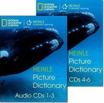The Heinle Picture Dictionary 2/e Audio CDs/6片