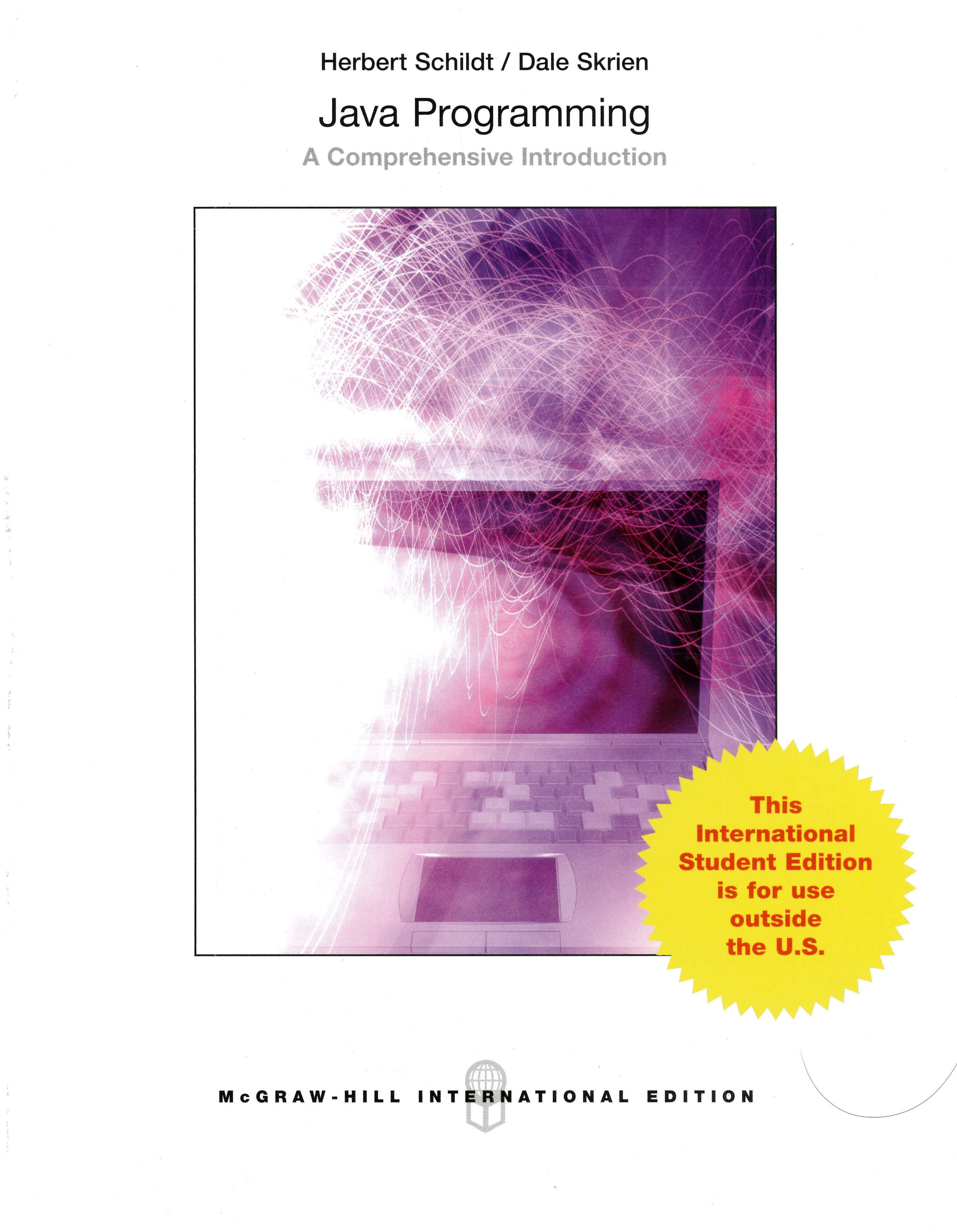 Java Programming: A Comprehensive Introduction 1/e