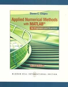 Applied Numerical Methods with MATLAB 3/e