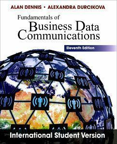 Fundamentals of Business Data Communications 11/e
