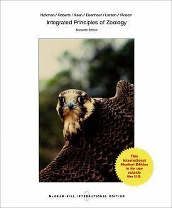Integrated Principles of Zoology 16/e