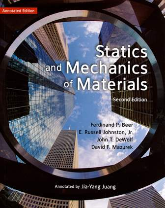 Statics and Mechanics of Materials 2/e 導讀版 (Annotated Edition)