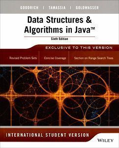 Data Structures and Algorithms in Java 6/e