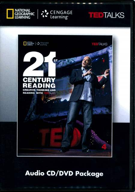 21st Century Reading (4) Audio CDs/2片 and DVD/1片