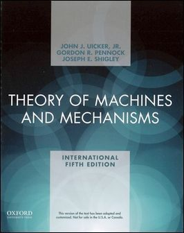 Theory of Machines and Mechanisms 5/e