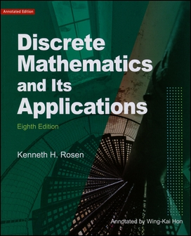 Discrete Mathematics and Its Applications 8/e (Annotated Edition) 導讀本