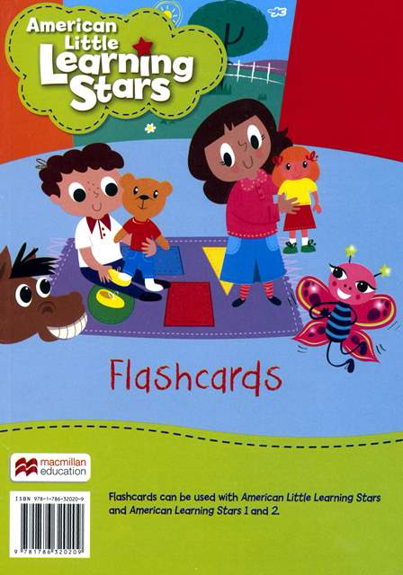 American Little Learning Stars Flashcards