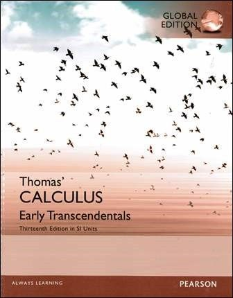 Thomas' Calculus: Early Transcendentals 13/e in SI Units