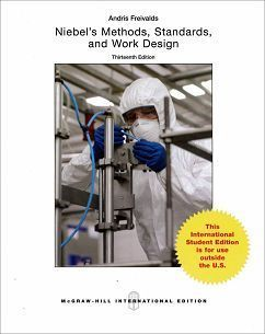 Niebel's Methods, Standards, and Work Design 13/e