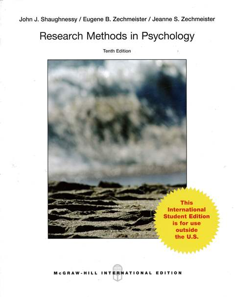 Research Methods in Psychology 10/e