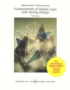Fundamentals of Digital Logic with Verilog Design 3/e