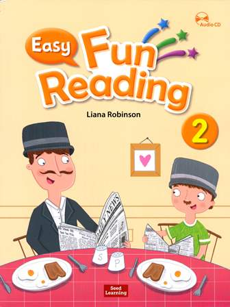 Easy Fun Reading (2) Student book with Workbook and Audio CD/片