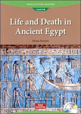 World History Readers (4) Life and Death in Ancient Egypt with Audio CD/1片