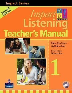 Impact Listening 2/e (1) Teacher's Manual with Test CD/1片 and Master CD/1片