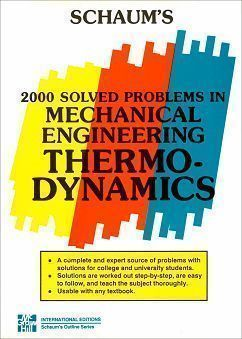 2000 Solved Problems in Mechanical Engineering Thermodynamics