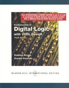 Fundamentals of Digital Logic with VHDL Design 3/e
