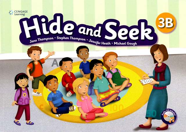 Hide and Seek (3B) with Activity Book and Audio CDs/2片