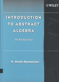 Introduction to Abstract Algebra 3/e