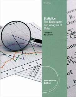 Statistics: The Exploration and Analysis of Data 7/e