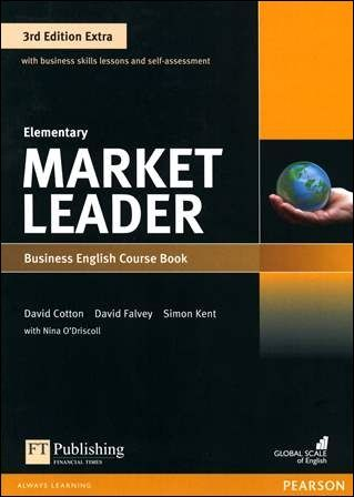 Market Leader 3/e Extra (Elementary) Course Book with DVD-ROM/1片