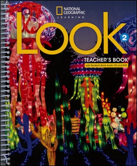Look (2) Teacher Book with Audio CD/片 and DVD/片