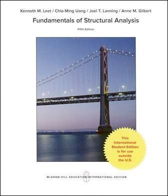 Fundamentals of Structural Analysis 5/e