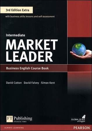 Market Leader 3/e Extra (Intermediate) Course Book with DVD-ROM/1片