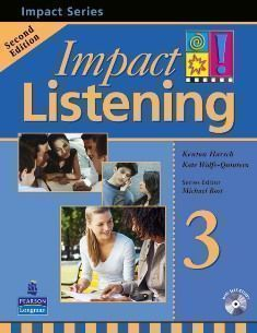 Impact Listening 2/e (3) Student Book  with CD/1片